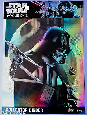 Topps Star Wars Rogue One Full Master Set 212 Cards + Binder + 5 Ltd