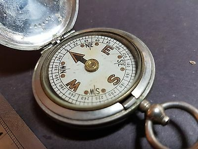 Vintage Compass, Possibly Military, 1918 Clement Clarke London Compass