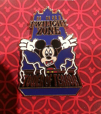 Disney Hong Kong Pin The Twilight Zone Tower of Terror Mickey GT1