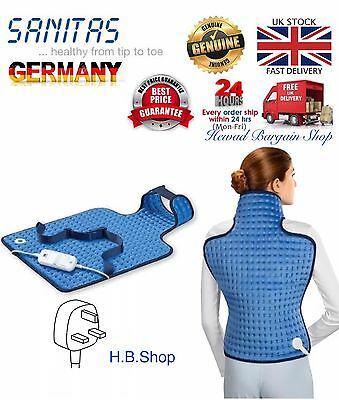Back and Neck electric Heating Pad 6 Temp. Settings Auto Power Off