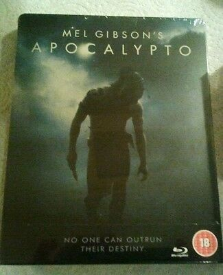Blu ray  Apocalypto Steelbook Edition New and Sealed