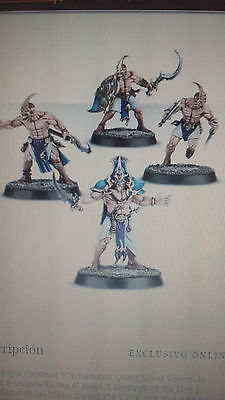 4X Kairic Acolytes Warhammer Quest: Silver Tower