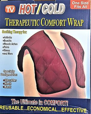 Wrap Neck Back Hot & Cold Therapeutic Comfort Instant Relief Arthritis Shoulders