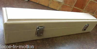 O GAUGE / 7mm  HANDMADE LOCOMOTIVE PROTECTION BOX WITH HINGES & CLASPS