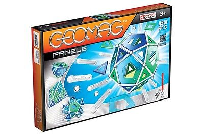 Geomag PANELS 180 Constuction System Magnetic Building Toy Set - SWISS MADE