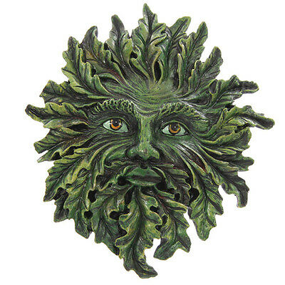 Greenman Wall Plaque Hanging Decorative Garden Ornament Treeman Tree Man