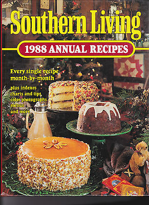 Southern Living 1988 Annual Recipes Hardcover Unused One-owner
