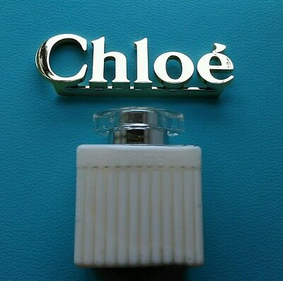 Chloe body lotion 100ml with gold Chloe gift text