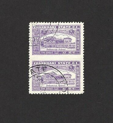 Jordan ovpt PALESTINE 1949 UPU 1m with overprint double, both inverted LH