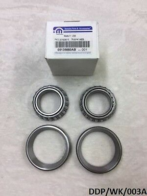 OEM Front Differential Carrier Bearing Jeep Grand Cherokee 2005-2010 DDP/WK/003A