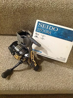 Shimano Seido 2500Ra Fighting Drag Reel Carp Pike Fishing Tackle
