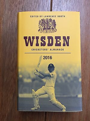 Wisden Cricketers Almanack 2016