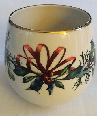 Lenox Candle Holder Winter Greetings Say It With Silk D