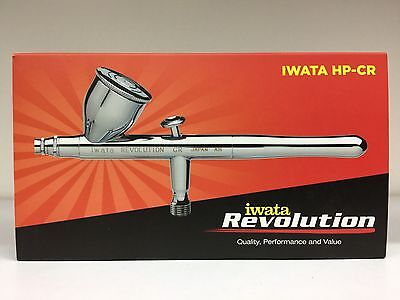 Anest Iwata Revolution HP-CR Airbrush Double Action 0.5mm Nozzle 10cc Cup R 4500