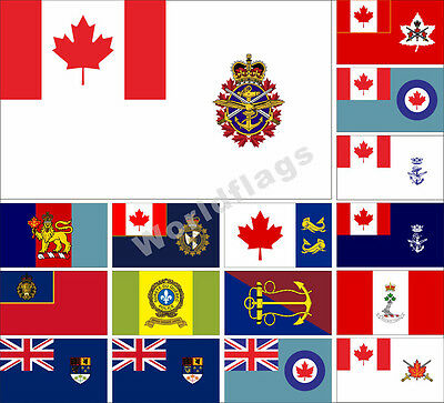 3 Canadian Forces Flag 3X5FT Naval Air Force Historical Army Royal Banner