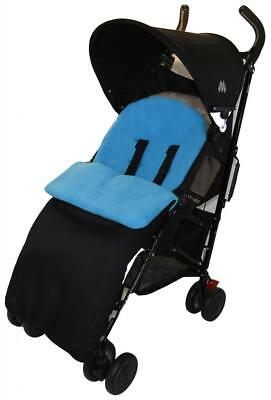 Footmuff / Cosy Toes Compatible with Liner Buggy Pram Stroller Turquoise