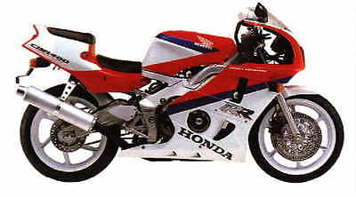 Manuale Officina Honda Cbr 400 Rr My 1998 - 1999 Workshop Manual Service E-Mail