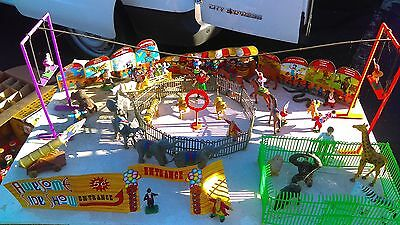 Stablemate Scale Circus-Awesome Kids-Awesome Circus w/Carrier-MUST SEE!!!!