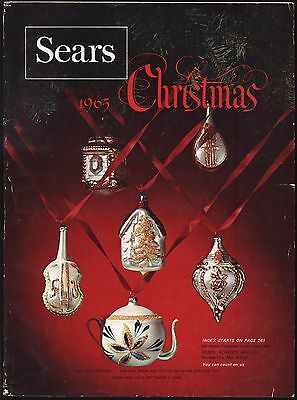 1965 Sears Christmas Catalog - Marx Playsets, James Bond, Disney, Barbie, Toys