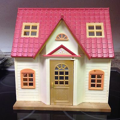 Calico Critters COZY COTTAGE HOUSE doll house ADDS ONTO townhome EXTENSION Cabin