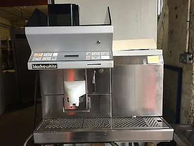 Black + white CT1 MF5 automatic Bean to Cup Coffee Machine