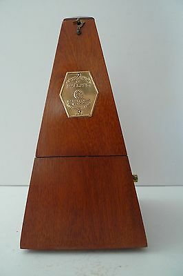 Antique Vintage Metronome Seth Thomas de Maelzel - Works Great - Made in USA