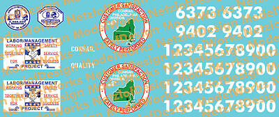 N Scale - Conrail Patchout Decal Set 2