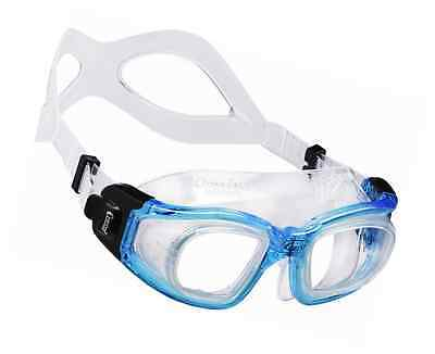 Cressi GALILEO, Open Water Adult Swimming Goggles with Tempered Glass Lens, Made