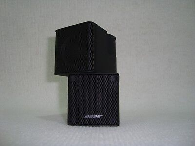 bose freespace 3 satellite speakers picclick uk. Black Bedroom Furniture Sets. Home Design Ideas