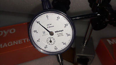 Japan Made Mitutoyo  Dial Indicator 2046S 0.001 Mm With Calibration Certificate