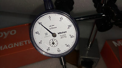 Brand New Mitutoyo Dial Indicator 2046S 0.001 Mm With Calibration Certificate Jp