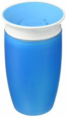 Munchkin Miracle Cup 360 Degree Sippy 296ml Blue Toddler Kids Leak Spill Proof