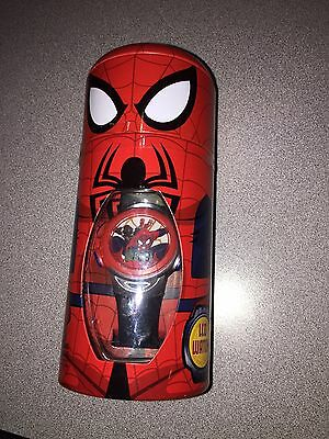 Nip Boys Marvel Spiderman Lcd Watch Free Shipping I Ship Everyday