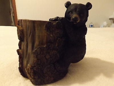Bear Hugging Tree Pen/ Pencil Holder
