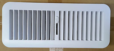 300mm x 100mm Plastic Floor Register Vent - Ducted Heating/Cooling - BRAND NEW