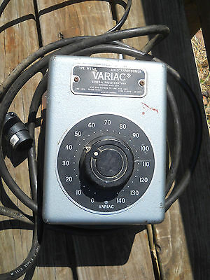 Vintage Variac Autotransformer Type W10M Tested-Works-Free Shipping