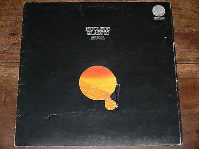 NUCLEUS Elastic Rock LP 1975 UK Vertigo Spaceship 6360 008 PROG JAZZ ROCK