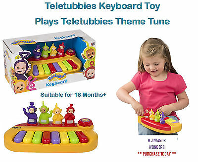 Teletubbies Keyboard Toy - Plays Teletubbies Theme Tune Suitable for 18 Months+