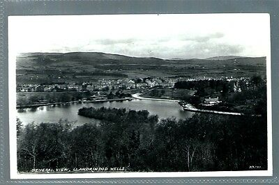 Historical Postcard General View Llandrindod Wells Wales  (L2092)
