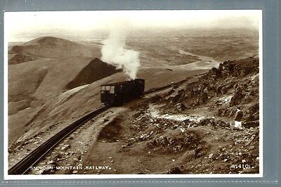 Historical Postcard Snowdon Mountain Railway Wales  (L2094)