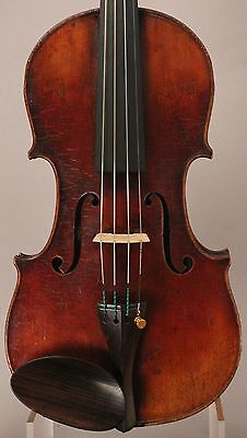Old, Antique, Vintage Violin Carolus Columbus Bruno 1906