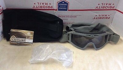 Revision Desert Locust FOLIAGE GREEN Military Goggle System Clear Smoke Lens