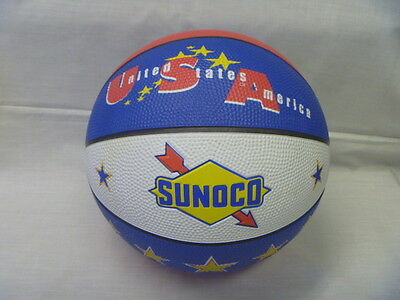 Sunoco Promo Advertising Offricial Basketball From the Early 1990's  Never Used