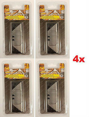 LOT OF 2x or 4x UTILITY KNIFE REPLACEMENT BLADES RAZOR SHARP DRYWALL EASY REFILL