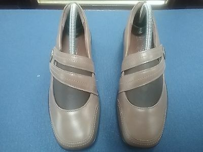 Hotter Melissa Taupe   Leather  Ladies  Casual Shoes Size Uk 5 Eu38.