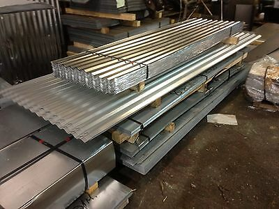 12ft (3.6m) galvanised roofing sheets corrugated