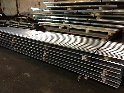 8ft / 2.4m Galvanised Metal Corrugated Roofing Sheet Cladding Tin