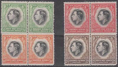 South West Africa - 1937 Coronation Pairs - MH (303)