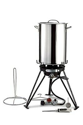 Eastman Outdoors 37069 30 Stainless Steel Professional Outdoor Cooking Set with