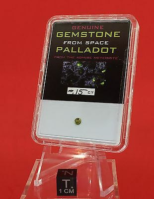 Palladot™ Pallasitic Peridot ~ .15ct Gemstone From Space by Meteorite Men Steve